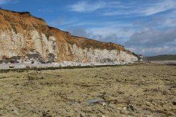Beach, between Hope Gap and Cuckmere Haven