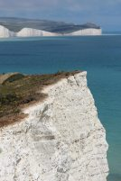 Belle Tout, from Seaford Head cliffs