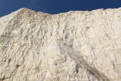 Chalk cliff face, Birling Gap