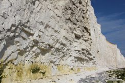 Chalk cliffs, Seven Sisters