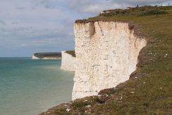 Chalk cliffs, Seven Sisters