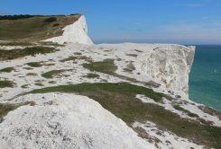 Seaford Head, from East Cliff, Seaford