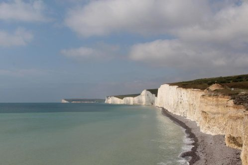 Seven Sisters and Seaford Head, from Birling Gap