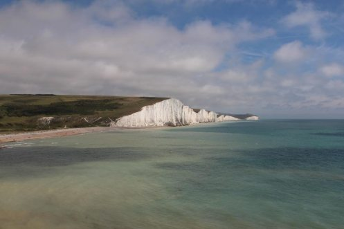 Seven Sisters, from cliffs above Cuckmere Haven