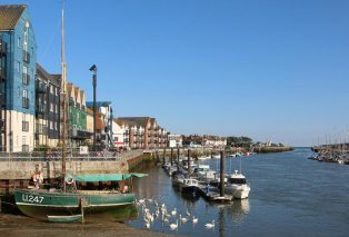 Baltic Wharf, River Arun, Littlehampton