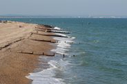 Beach, from Lifeboat Station, Selsey Bill