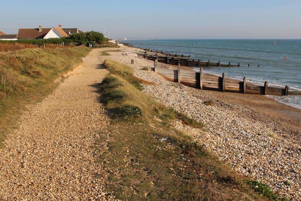 Beach path to East Wittering