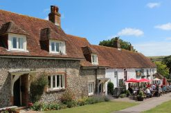 Cottages and The Tiger Inn, East Dean