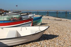 Fishing boats, Selsey Bill