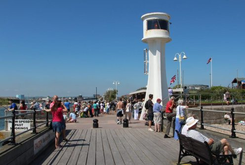 Littlehampton Lighthouse, East Pier, Littlehampton
