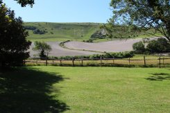 Long Man of Wilmington, from Priory Car Park, Wilmington