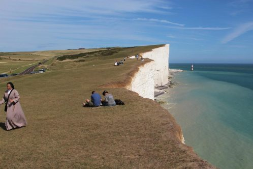 South Downs Way cliff path to Beachy Head