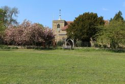 All Saints Church, from The Green, Brill