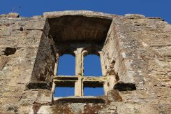 Castle window, Bodiam Castle