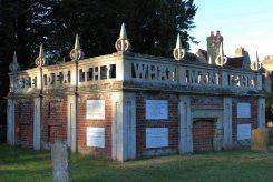 Mausoleum of the Higgins family, All Saints Churchyard, Turvey