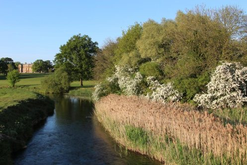 River Great Ouse and Turvey House, Turvey