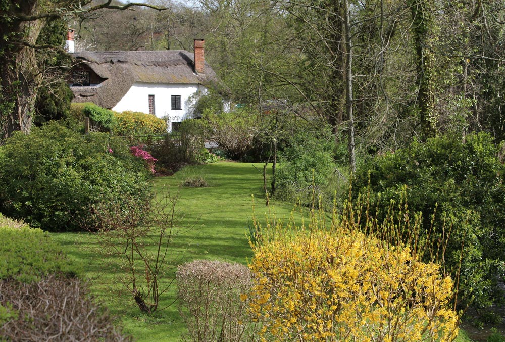 Thatched cottage, Bickleigh