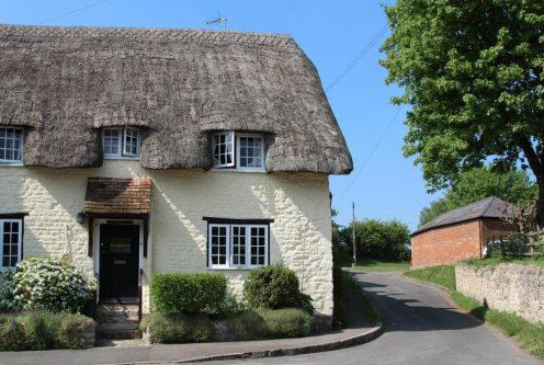 Thatched cottage, Long Crendon