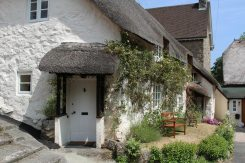 Thatched cottage, Lustleigh