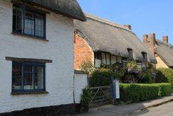 Thatched cottages, Long Crendon