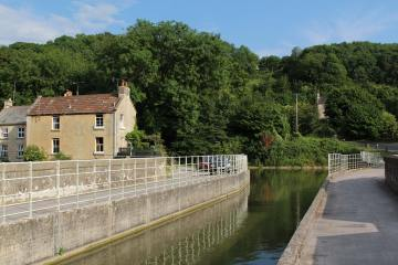 Avoncliff Aqueduct, Kennet and Avon Canal, Avoncliff