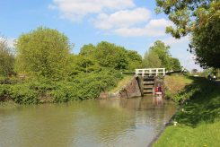 Caen Hill Locks, Maton Lock 49, Kennet and Avon Canal, Devizes
