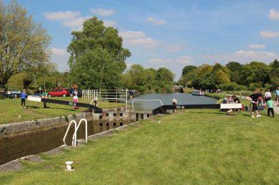 Caen Hill Locks, The Manifold Lock 47, Kennet and Avon Canal, Devizes