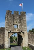 East Gatehouse, Farleigh Hungerford Castle, Farleigh Hungerford