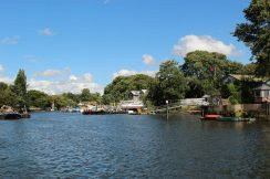 Eel Pie Island and River Thames, Twickenham
