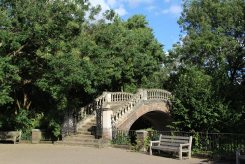 Footbridge, York House Gardens, Twickenham