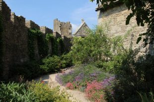 Garden around the Chapel, Farleigh Hungerford Castle, Farleigh Hungerford