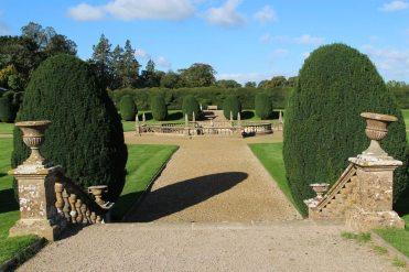 Garden, Montacute House, Montacute