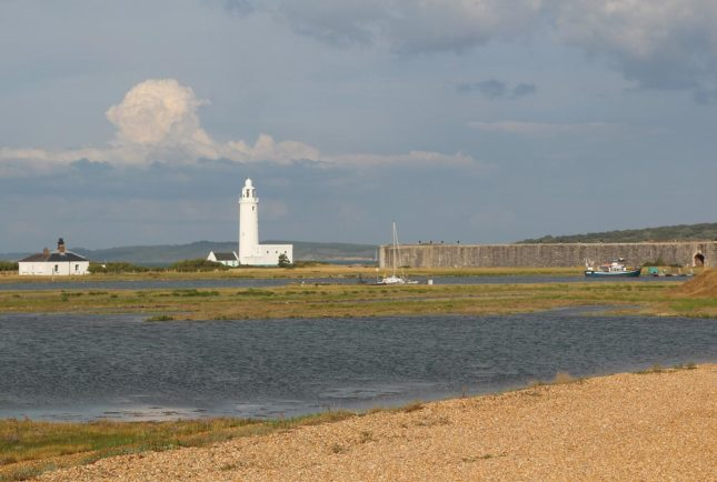 Hurst Spit and Hurst Castle, Milford-on-Sea, Hampshire