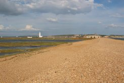 Hurst Castle and Hurst Spit, Milford-on-Sea