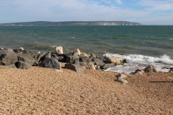 Isle of Wight, from Milford-on-Sea