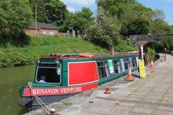 'Kenavon Venture' trip boat, Devizes Wharf, Kennet and Avon Canal, Devizes