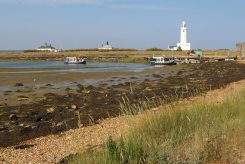 Keyhaven Ferries and jetty, Hurst Castle, Milford-on-Sea