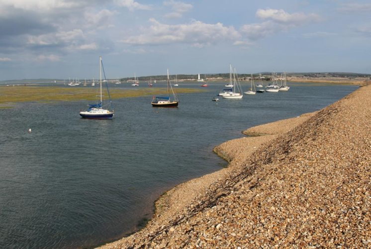 Mount Lake and Hurst Spit, Milford-on-Sea