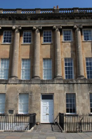 No. 17 Royal Crescent, home of Sir Isaac Pitman, Bath