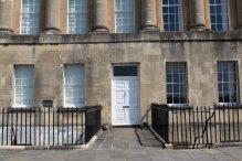 No. 17 Royal Crescent, home of Sir Isaac Pitman, Bath