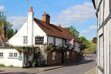 Rose and Crown, St. Michael's Street, St. Albans