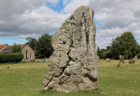 Stone, South East Sector, Avebury Henge