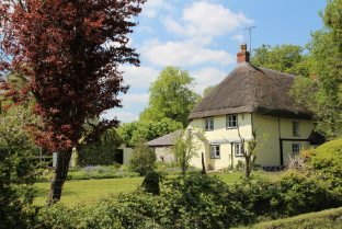 Thatched cottage, Bishops Cannings
