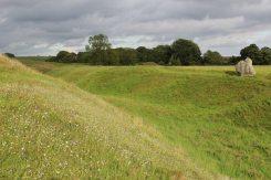The Bank and Ditch, Avebury Henge