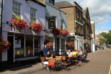 The Eel Pie pub, Church Street, Twickenham