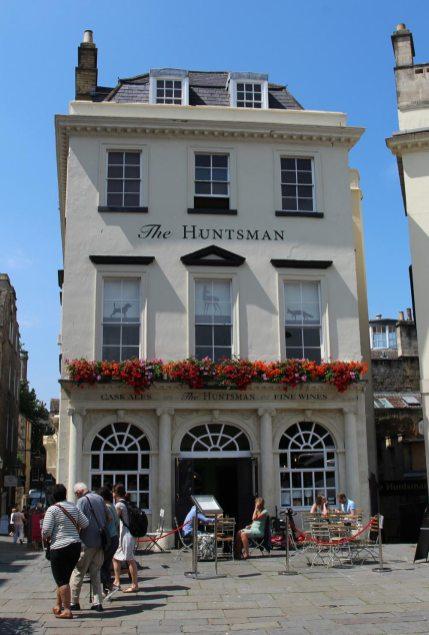 The Huntsman pub, Terrace Walk, Bath