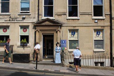 The Jane Austen Centre, Gay Street, Bath