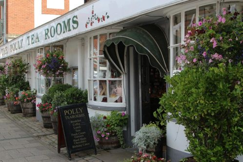 The Polly Tea Rooms, Marlborough
