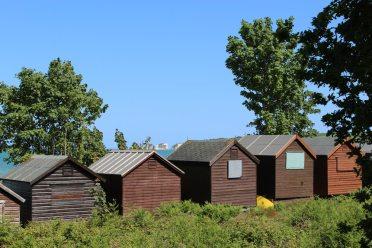 Beach huts, Middle Beach, Studland