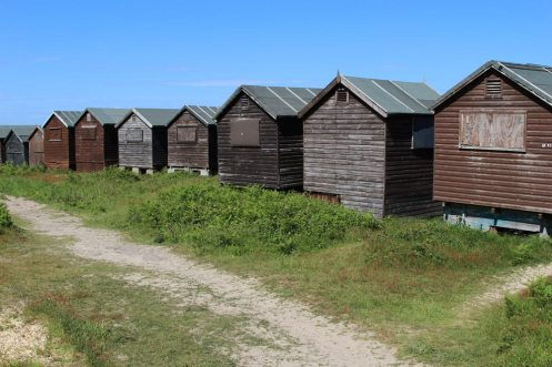 Beach huts, Middle Beach, Studland